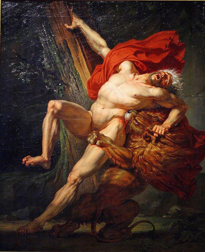 La mort stupide de Milon de Crotone